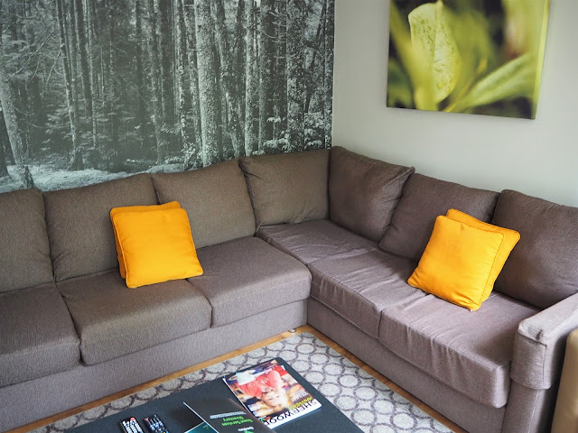 Is Centre Parcs worth it without kids - living area