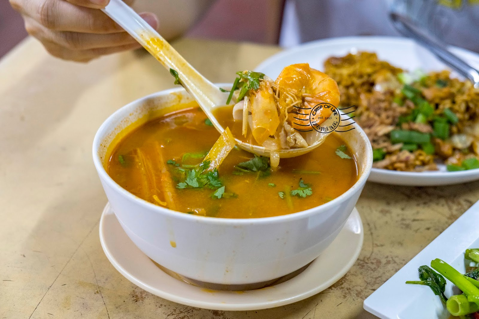 Hidden Thai Influenced Malay Food at Farlim - Tamarind Tomyam
