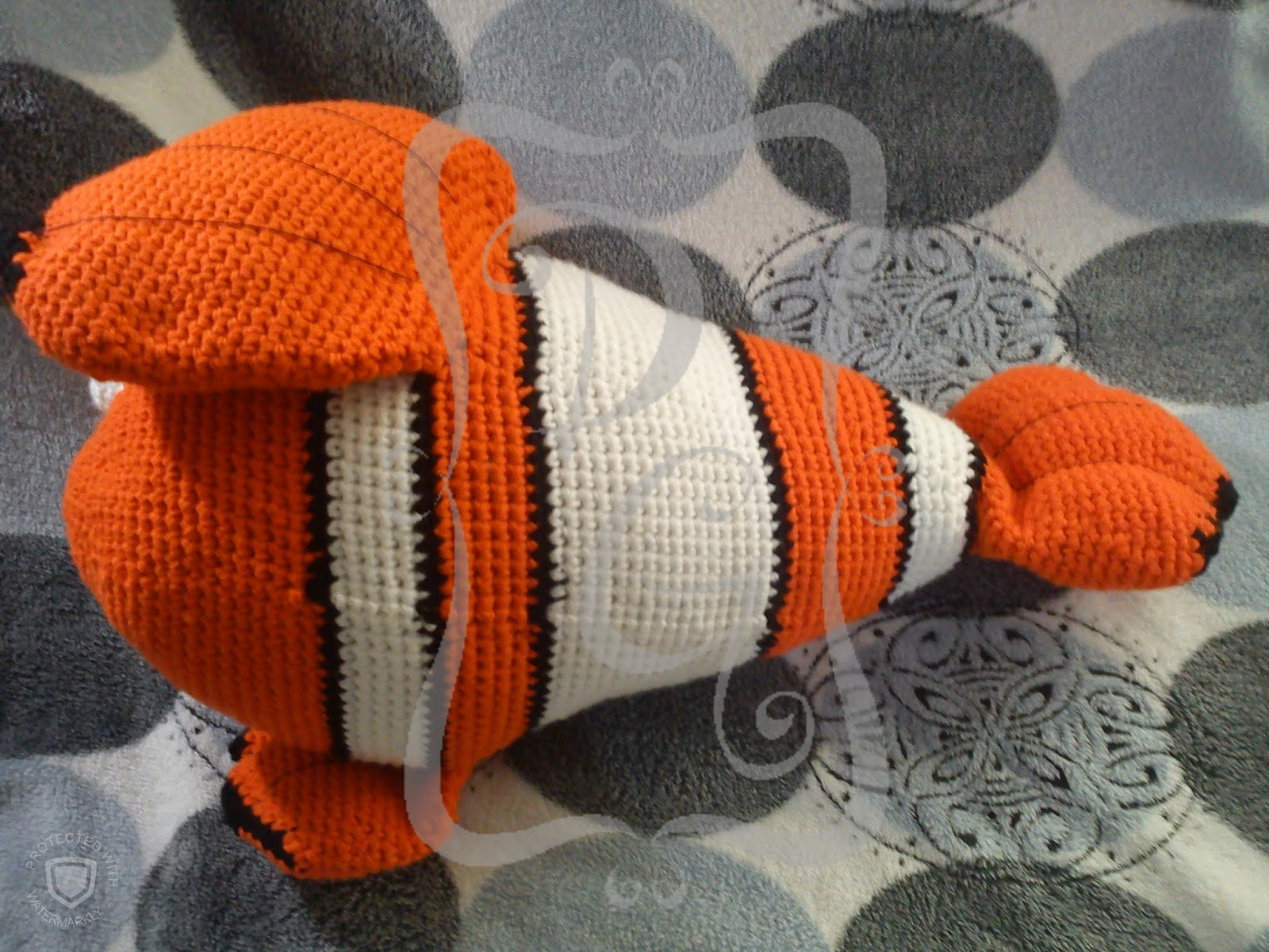 Nemo Peixe Amigurumi Croche no Elo7 | AMANOBLU (DF0581) | 1200x1600