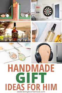 Easy DIY Gifts Ideas For Men