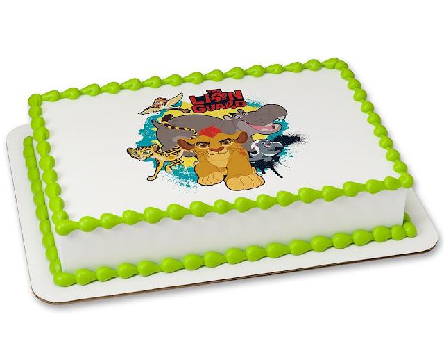 The lion guard defender cake birthday