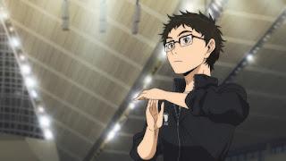 ハイキュー !! アニメ 4期 烏野高校 監督   武田 一鉄 Takeda Ittetsu   HAIKYU!! Karasuno High   Hello Anime !