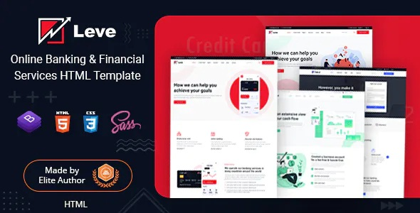 Best Banking & Payment Processing HTML Template