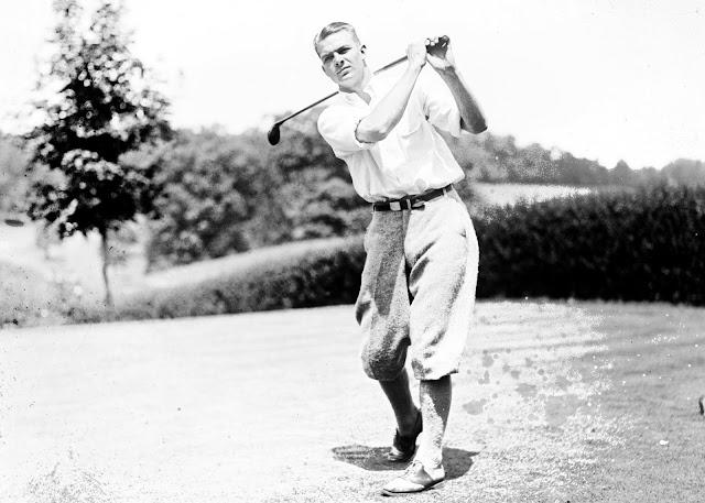 Golfer Jess Sweetser