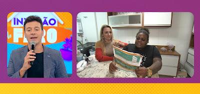 Faro em live com Jojo Todynho. Crédito: Divulgação/ Record TV