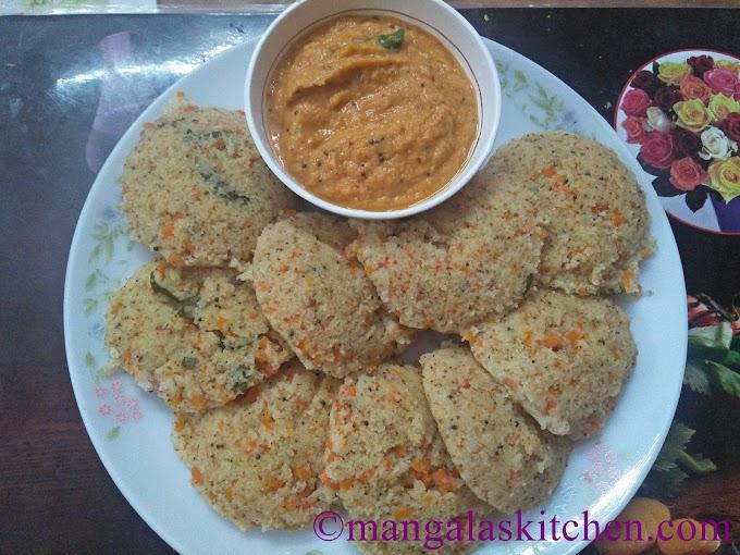 Wheat Rava Idli | Godhumai Ravai Idli | Diabetic Diet Recipe
