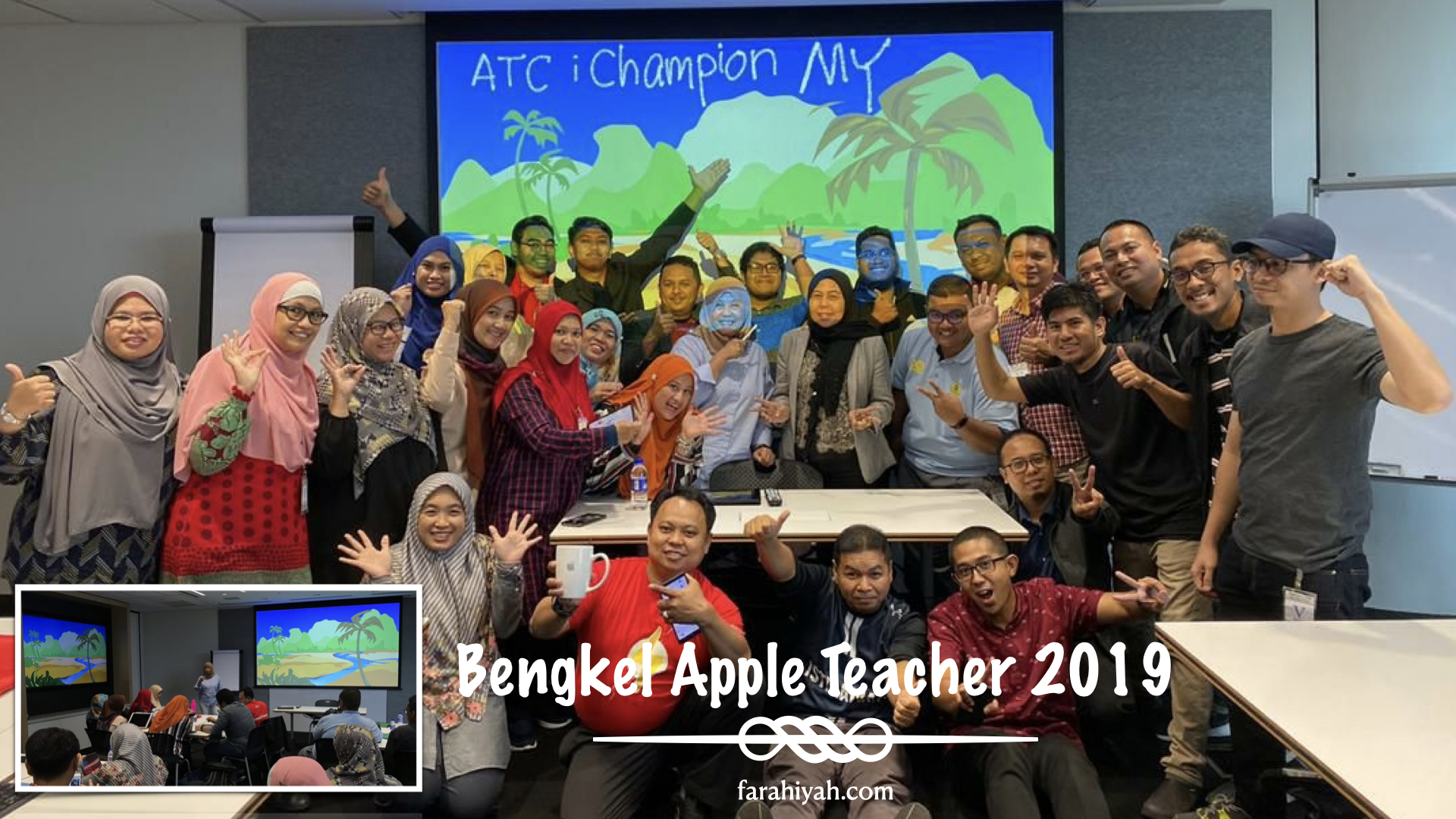 bengkel apple teacher