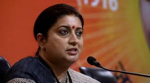 smriti-irani-accuses-sibal-of-land-scam-business-deals-with-money-launderer