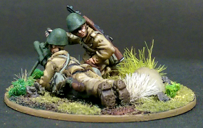 28mm World War 2 Mortar