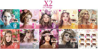 Review X2 Diary Royal Blue