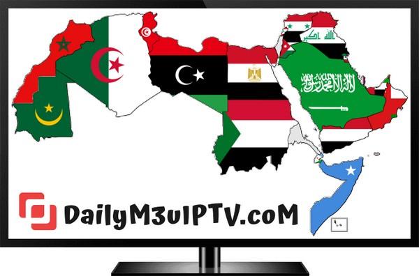 IPTV M3u Arabic Channels Playlists Free Download 26/02/2020