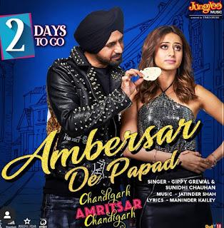 Lyrics Ambersar De Papad Gippy Grewal ft Sunidhi Chauhan