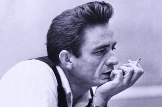 Johnny Cash Pompadour hairstyle