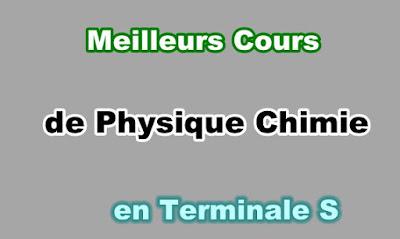 Cours Physique Chimie Terminale s Gratuit en PDF