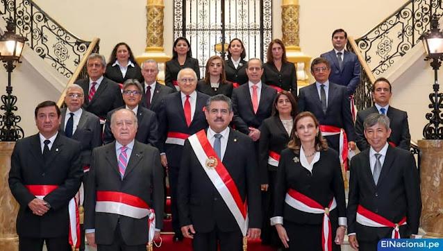 Gabinete de Ántero Flores-Aráoz, Merino de Lama