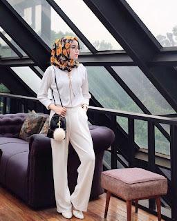 Model Celana Kulot wanita kedua