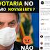 COM MAIS DE 80 (%) BOLSONARO SERIA NOVAMENTE ELEITO PELO POVO DE OURINHOS E REGIÃO