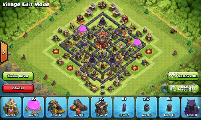 Susunan Formasi Base War TH 8 Update Terbaru 6