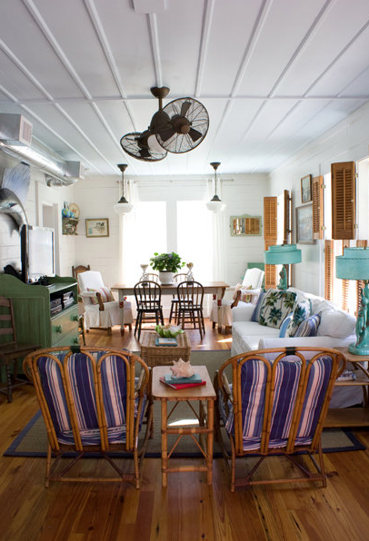 Seaside Style The Spin On Ceiling Fans