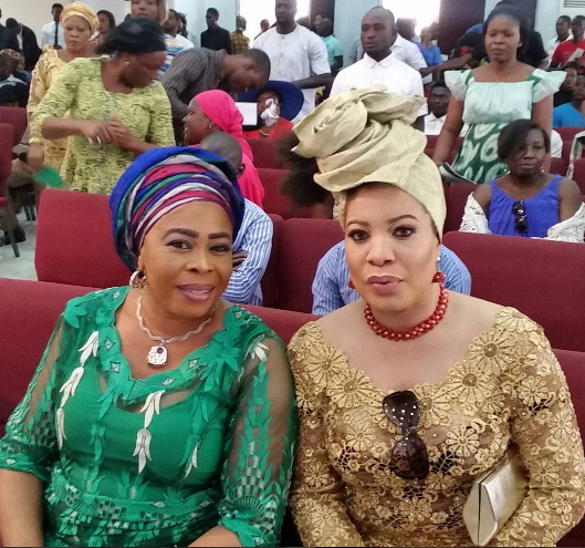 toyin adewale monalisa chinda attends rccg church