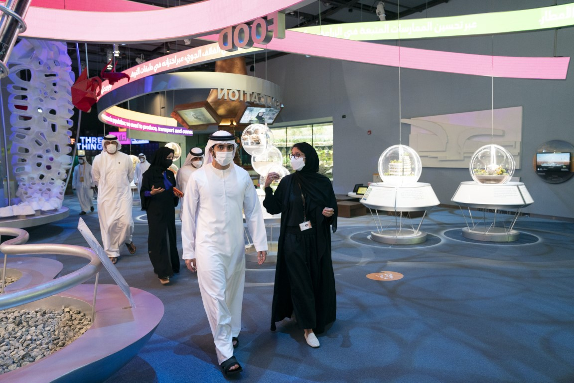 Sheikh Hamdan briefed about Expo 2020 preparations