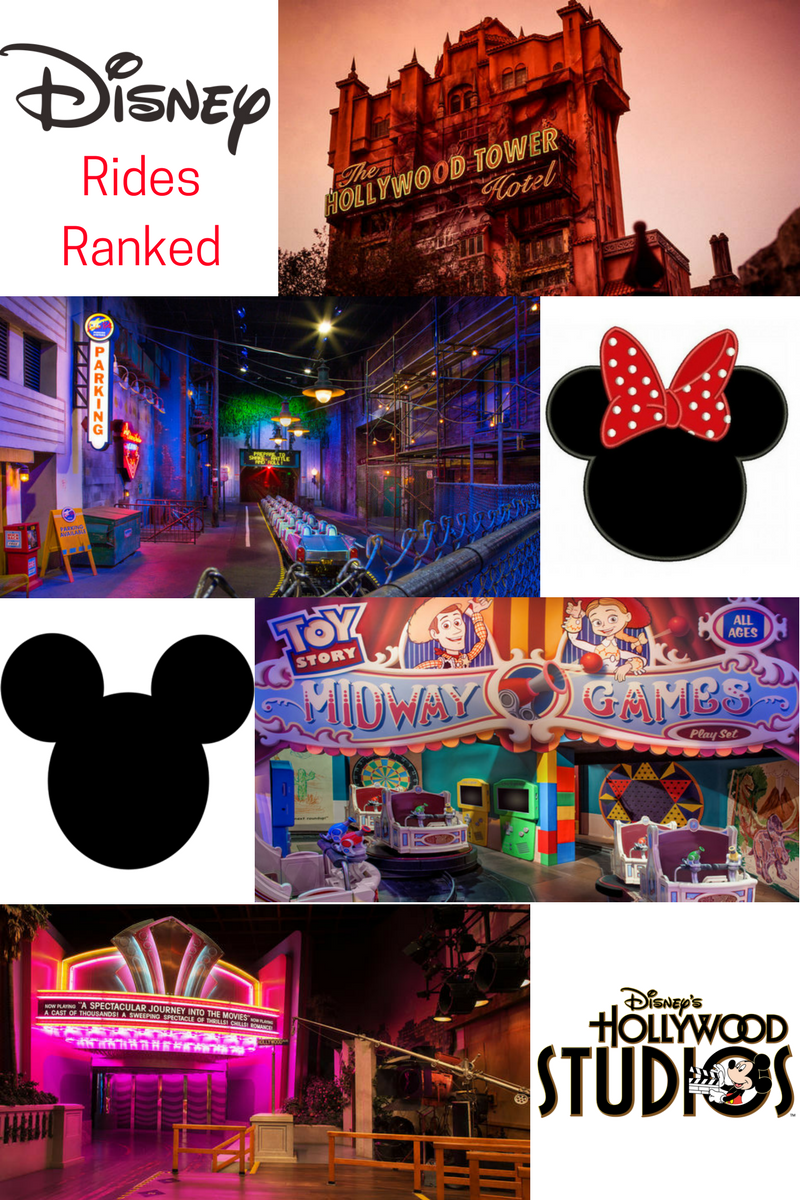 Disney's Hollywood Studios Rides Ranked