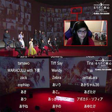 Participé del Rurouni Kenshin Global Fan Session