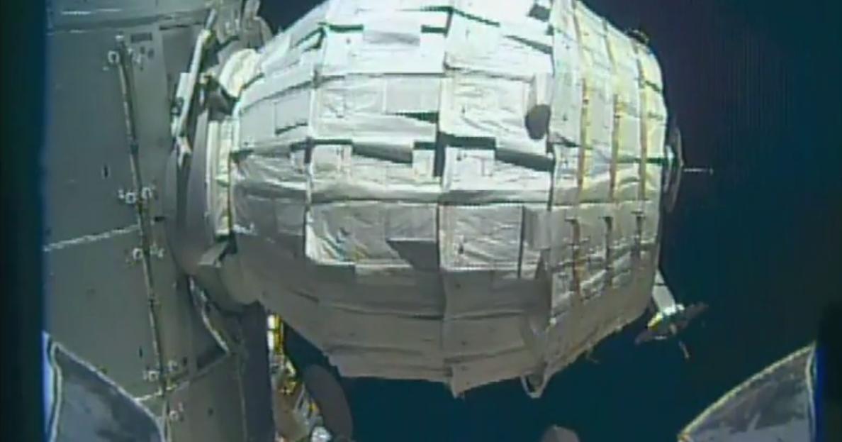 BEAM, ottime le sue prestazioni a 5 mesi dall'installazione sulla Stazione Spaziale Internazionale