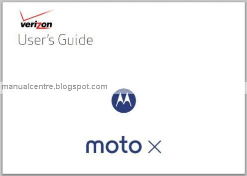 Motorola Moto X Manual Cover