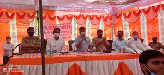 जिलाधिकारी व एसपी ने पंचायत चुनाव को लेकर प्रत्याशियों संग किया बैठक | #NayaSaberaNetwork