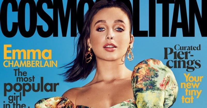 Emma Chamberlain Serves A Fashion Storm For Cosmopolitan