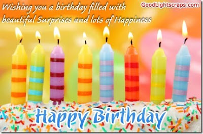 Happy Birthday Wishes And Quotes For the Love Ones: wishing a birthday filled with beautiful surprises lots of happiness
