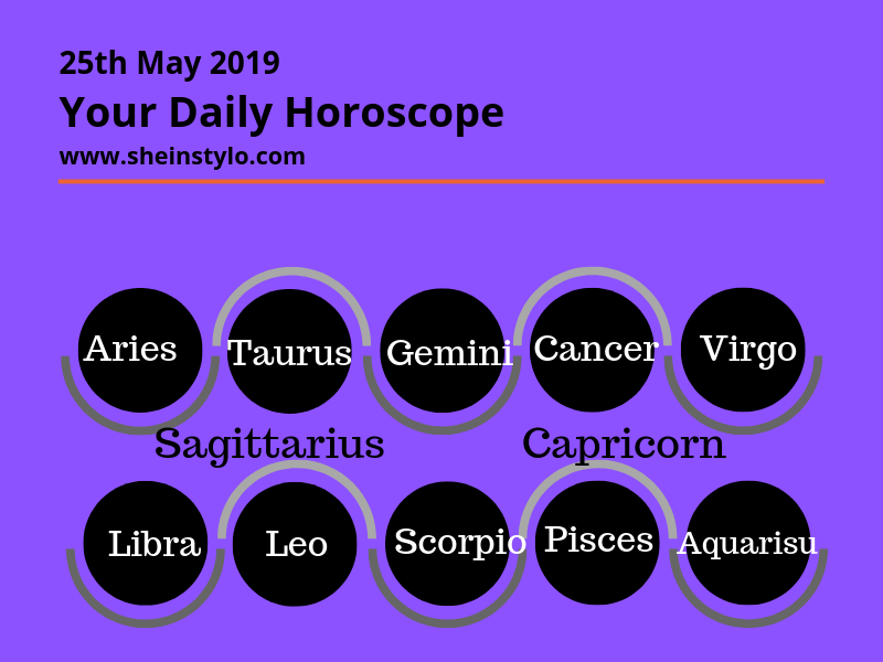 25th May 2019 | Your Daily Horoscope | What is your friend's zodiac
