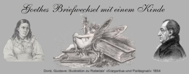 Briefwechsel mit Goethe