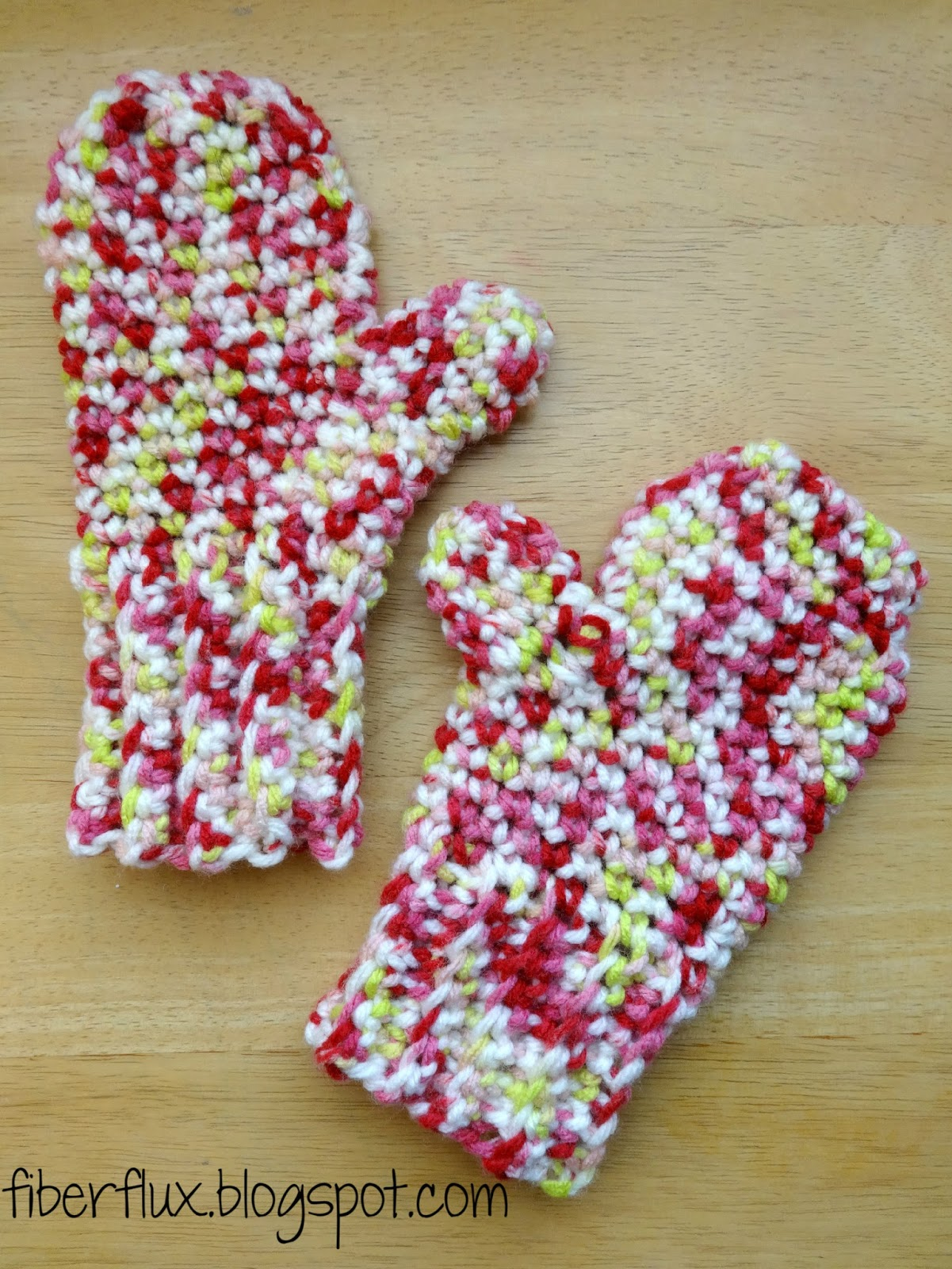 Fiber Flux: Latest Charity Project...Mittens for Detroit!