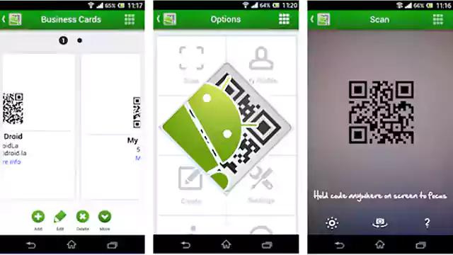 تحميل تطبيق اندرويد QR Droid Private
