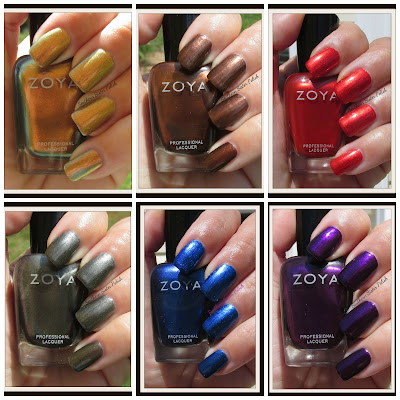 Zoya's Flair Collection... Swatch and Review