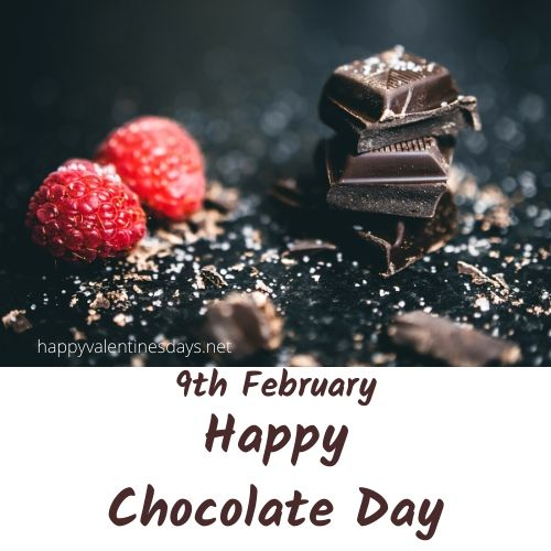 february special day : 9 feb happy chocolate day 2021