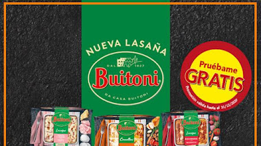 Vuelve el pruébalo gratis de Lasaña Buitoni