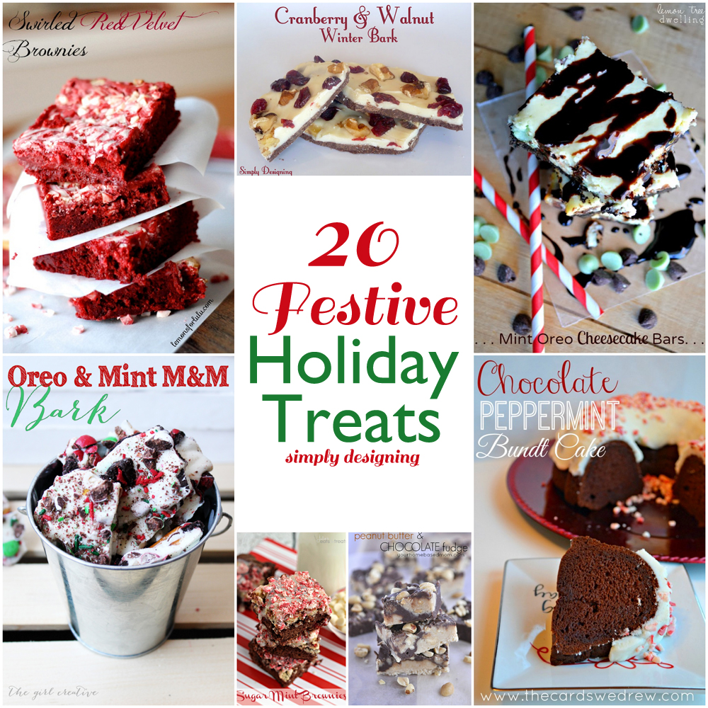 20 Festive Holiday Treats