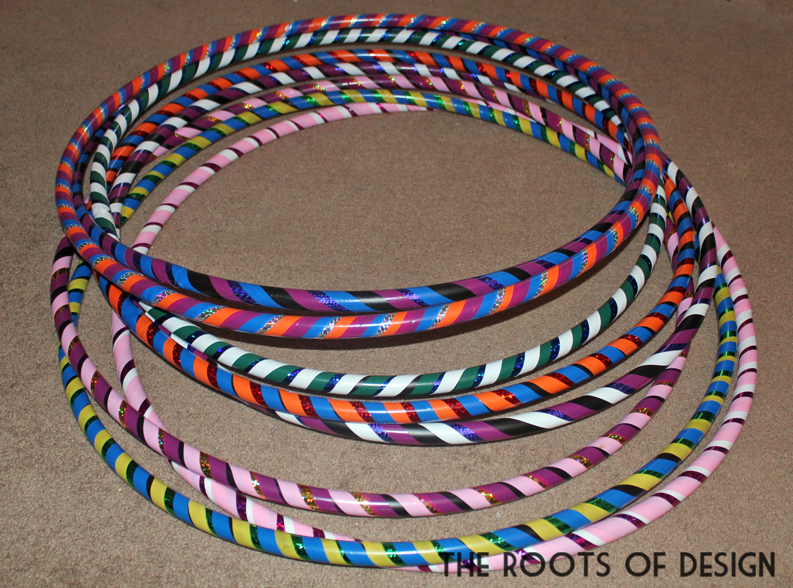 The Roots Of Design Diy Hula Hoops