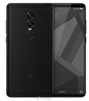 Xiaomi Redmi Note 5, Design