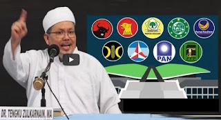 Tengku Zul: Pemilu 2024, Singkirkan Parpol Pendukung Omnibus Law RUU Cipta Kerja