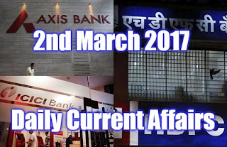 March 2017 Current Affairs