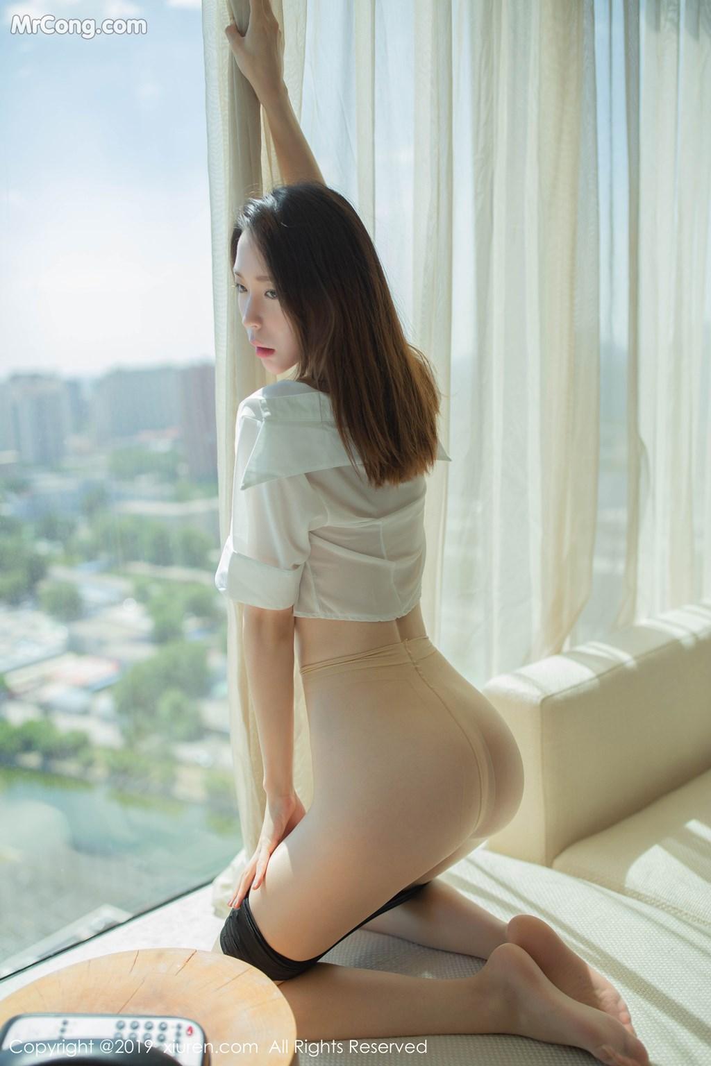 Image XIUREN-No.1645-Meng-Xin-Yue-MrCong.com-004 in post XIUREN No.1645: Meng Xin Yue (梦心月) (96 ảnh)
