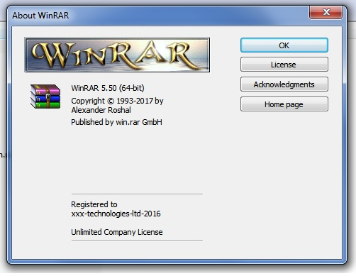 winrar with serial key