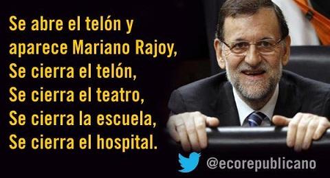 El PSOE acusa a Mariano Rajoy de irresponsable