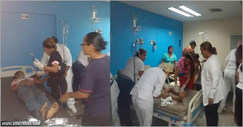 Niños heridos al explotar un transformador están en estado crítico