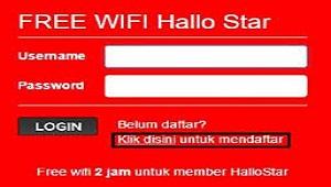 Hallo Star - Aplikasi Bobol Wifi Id