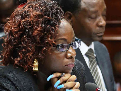 Catherine Namuye Youth fund scandal. PHOTO | FILE